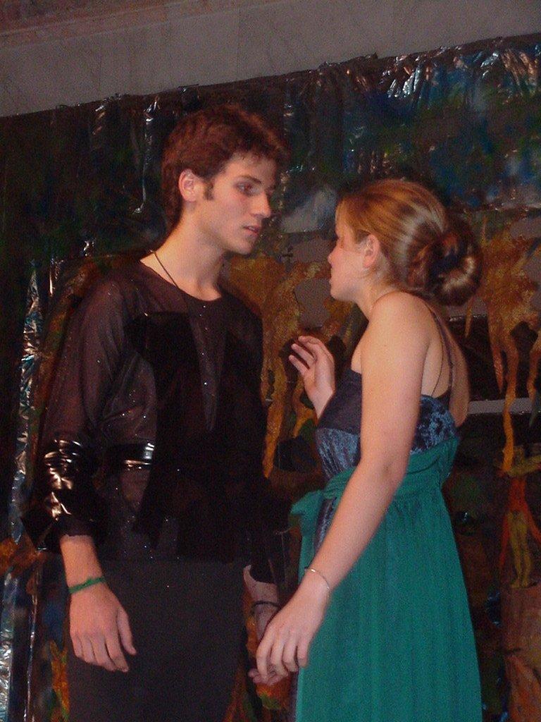 Ricky and Sofia as Ferdinand and Miranda